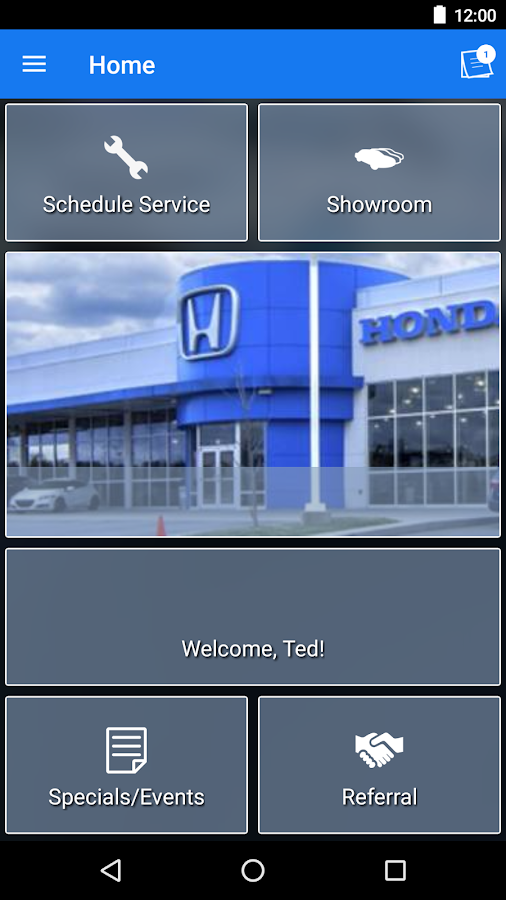McLarty Honda MLink- screenshot