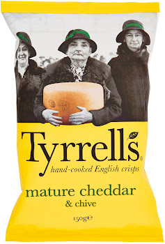 Tyrrells Mature Cheddar & Chive - 150g