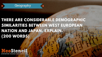 Geography Answer Writing Challenge – Question Set 9