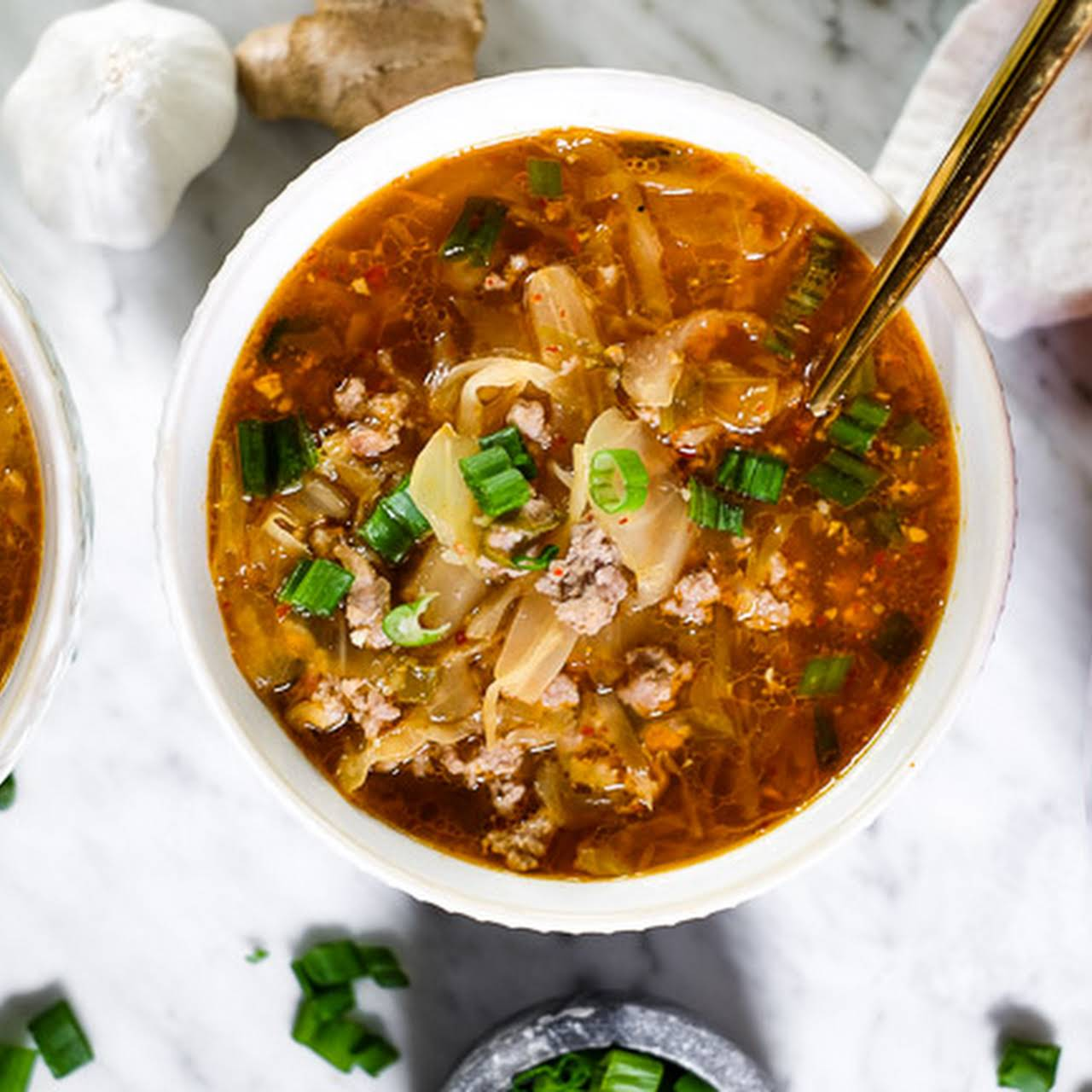 Kimchi Soup (Paleo, Whole30 + Keto)