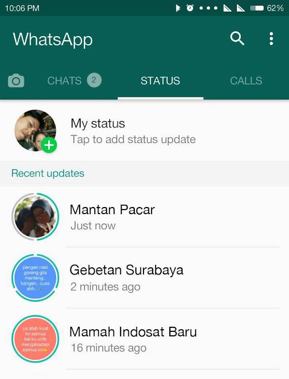 Cara Save Whatsapp Story Tanpa Aplikasi Tambahan Fajar Mukharom