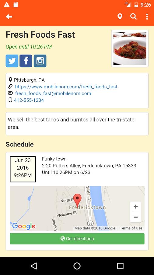 Food Truck Finder Apps
