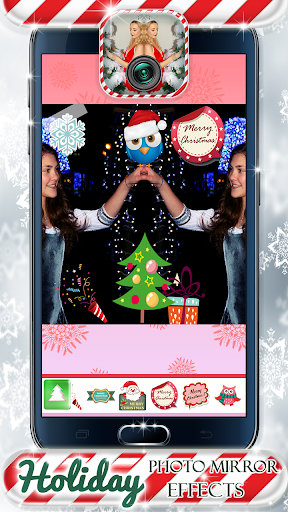Photo Mirror Holiday Effects