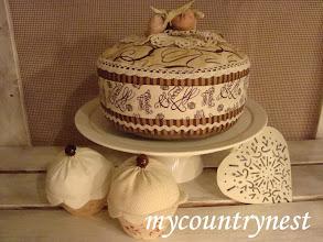 Photo: torta cioccolato decorativa