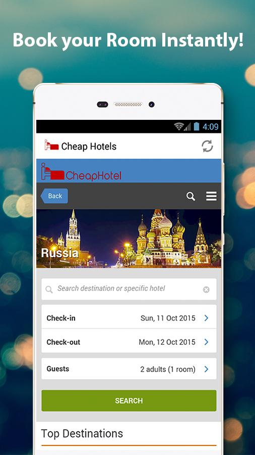 Cheap Hotels - Hotel Booking- screenshot