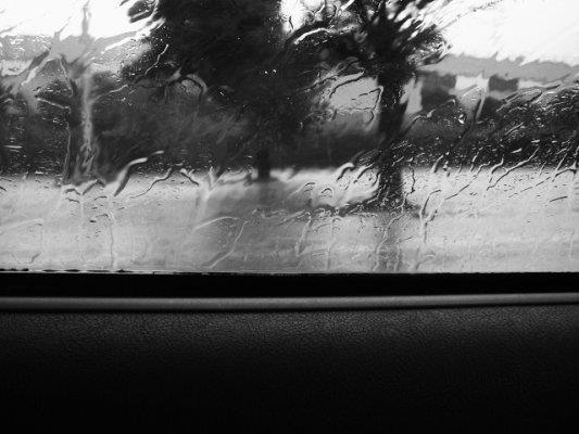 viaggio piovoso di Tiz