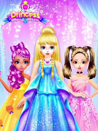 Princess Dress up Games - Princess Fashion Salon screenshots 1