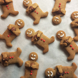 Gingerbread Men Going Nuts