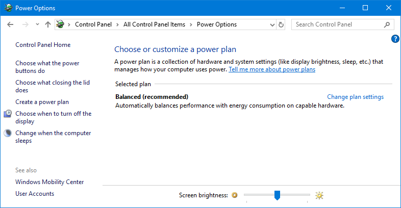 Add High Performance/Ultimate Performance Plan on Windows 10 if It is  Missing in Power Options
