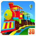 3D Train Engine Driving Game For Kids & Toddlers
