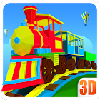 3D Train Engine Driving Game For Kids & Toddlers icon