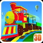 3Игра 3D поезд для детей icon