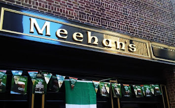 """Photo: Carved 3D Letters """"Meehan's"""" Irish Pub Downtown Atlanta across from Hard Rock Cafe and Hooters. More at www.nicecarvings.com"""