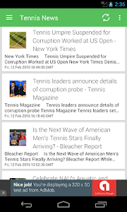 Tennis News Surge screenshot 0
