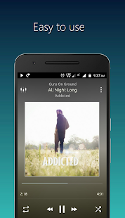 PowerAudio Plus - Music Player Screenshot