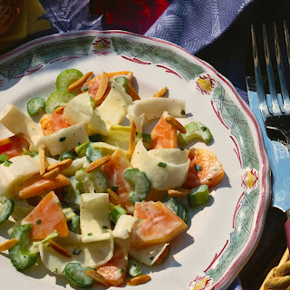 Chicorée-Salat mit Papaya