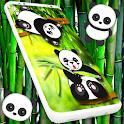 Cute Panda Live Wallpaper 🐼 Kawaii Bear Theme icon