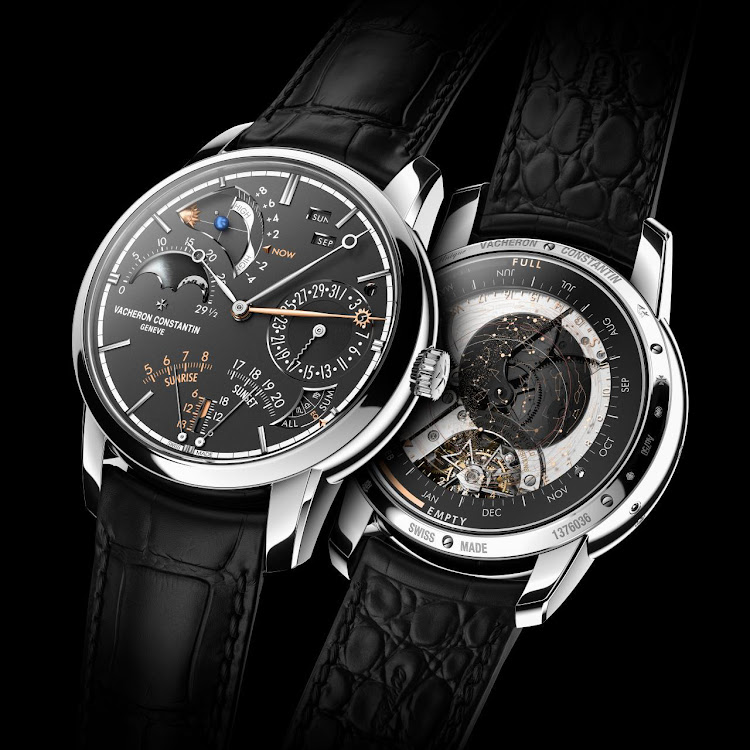 Les Cabinotiers Celestia Astronomical Grand Complication 3600, an astronomical watch with 23 complications