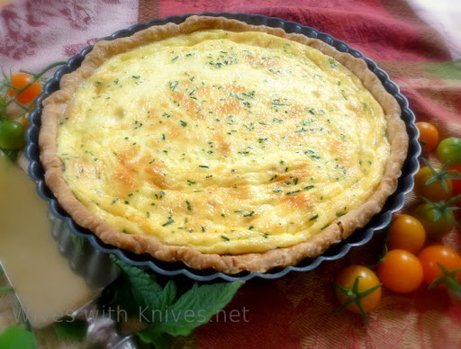 Julia Childs Quiche Lorraine
