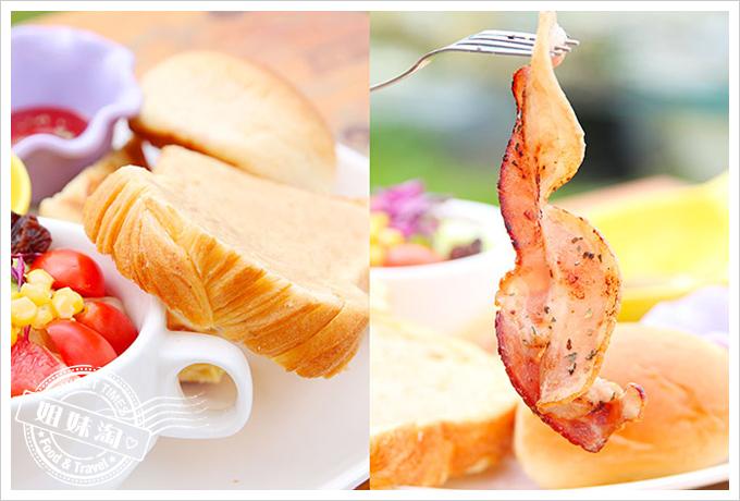 小琉球荷花軒早午餐丹麥吐司套餐2
