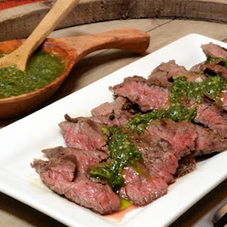 Chimichurri Sauce with Steak Recipe