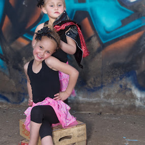Future Rock Stars by Belinda O'Connor - Babies & Children Child Portraits ( little rockstar, rocstar clothing for kids, rockstar )