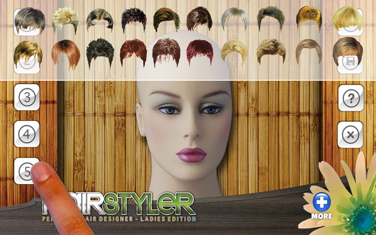 Remarkable Free Virtual Hair Styler Style Android Apps On Google Play Short Hairstyles Gunalazisus