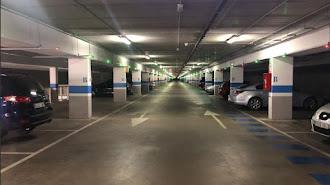 Interior del aparcamiento de Padre Méndez
