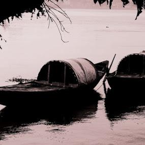 Pair........ by Dipan Chaudhuri - Transportation Boats