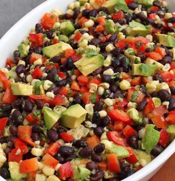 Jan's 4th Of July Bean Dip Recipe