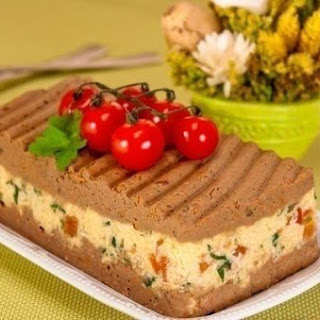 Pate With Chicken Liver And Cheese
