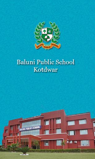 Baluni Public School Admin App