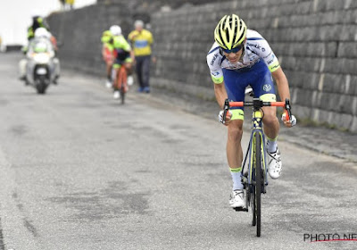 """Renner van Wanty-Gobert betreurt koersverloop op slotklim: """"Ik had de benen om mee te doen voor een overwinning"""""""