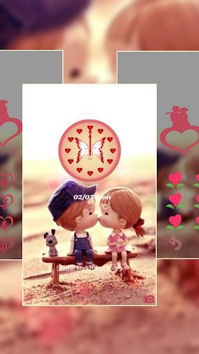 Love kiss sweetness theme 1.1.6 screenshots 1