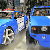 Police Transport Game: Impossible Car Theft Auto