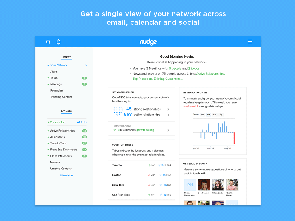 Nudge.ai- screenshot