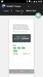 RawBT driver for thermal ESC/POS printer – Android Mod + APK + Data 2