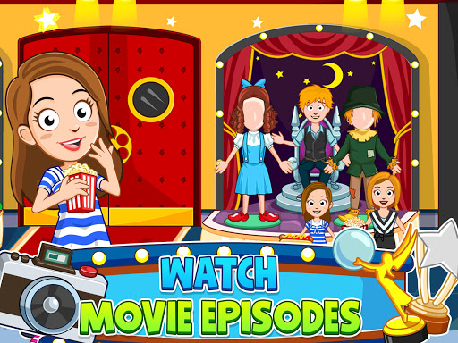 My Town : Cinema. Fun Movistar Kids Movie Night  screenshots 17