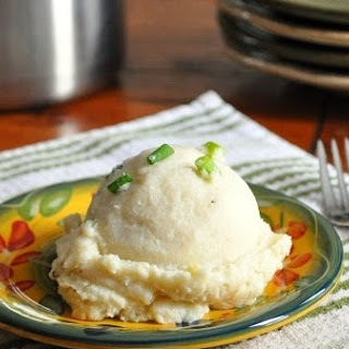 Faux Garlic & Chive Mashed Potatoes