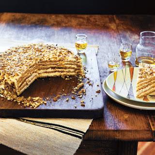 Russian honey cake (Ruskie przekladaniec)