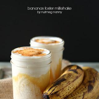 Bananas Foster Milkshake.