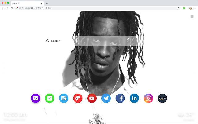 Young thug HD New Tabs Popular Stars Themes