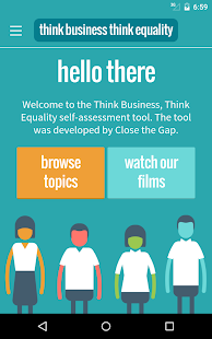 Think Business, Think Equality- screenshot thumbnail
