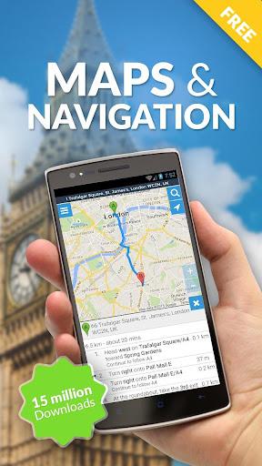 Maps, GPS Navigation & Directions, Street View screenshot 1