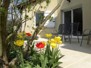 Photo: Suite: Entrée et Terrasse privées