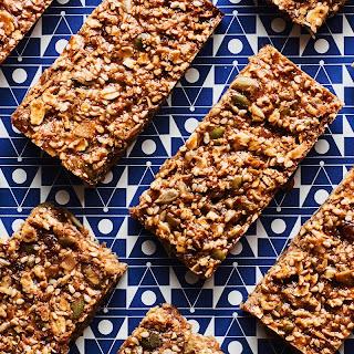 Granola Bars with Dried Fruit and Seeds recipe   Epicurious.com.
