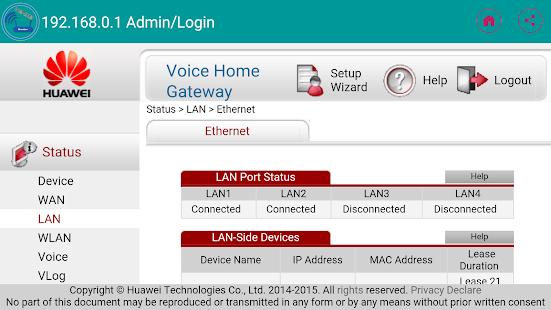 192 168 0 l Admin / Login APK Download - Android Tools Apps