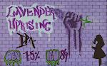 Broken Clock Cooperative Lavender Uprising IPA