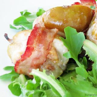 Stuffed Roasted Pear Salad.