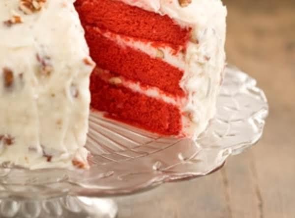 Grandmother Paul's Red Velvet Cake